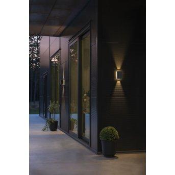 Konstsmide Cremona Außenwandleuchte LED Anthrazit, 3-flammig