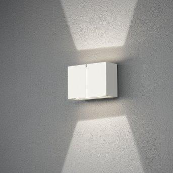 Konstsmide Pavia Außenwandleuchte LED Weiß, 4-flammig