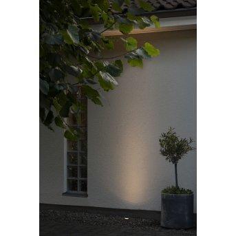 Konstsmide  Bodeneinbauleuchte LED Schwarz, 1-flammig