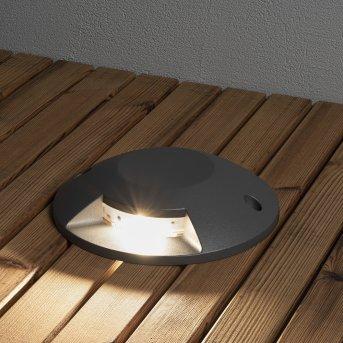 Konstsmide  Bodeneinbauleuchte LED Anthrazit, 1-flammig