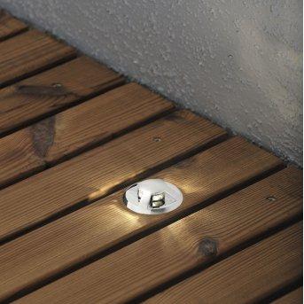 Konstsmide Mini 6er-Set Bodeneinbauleuchte Silber, 6-flammig