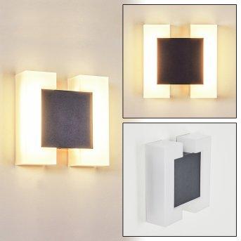 Zoppola Außenwandleuchte LED Anthrazit, Weiß, 2-flammig