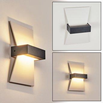 Randsfjord Außenwandleuchte LED Anthrazit, Weiß, 1-flammig