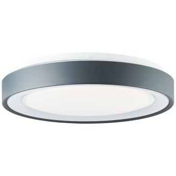 Brilliant Leuchten Tessy Deckenleuchte LED Schwarz, 1-flammig, Fernbedienung, Farbwechsler