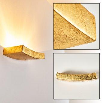 Bochum Wandleuchte Gold, 1-flammig