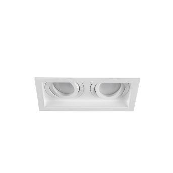 Trio Kenai Deckenleuchte LED Weiß, 2-flammig