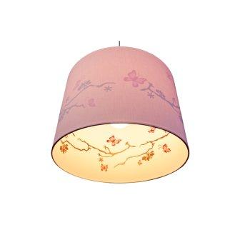 Waldi Blüten Pendelleuchte Glas, 1-flammig