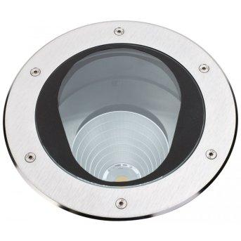 Albert Leuchten 2422 Bodeneinbaustrahler LED Edelstahl, 1-flammig
