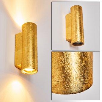 Nuovodi Wandleuchte Gold, 2-flammig