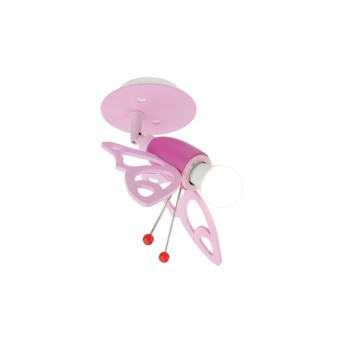 Elobra FALTER Spot Pink, 1-flammig