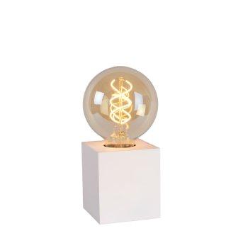 Lucide PABLO Tischlampe Weiß, 1-flammig