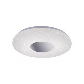 Leuchten Direkt LAVINIA Deckenleuchte LED Chrom, 1-flammig, Bewegungsmelder