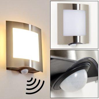 Meja Außenwandleuchte LED Anthrazit, 1-flammig, Bewegungsmelder
