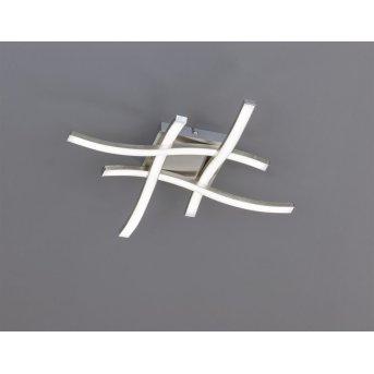 Reality ROUTE Deckenleuchte LED Nickel-Matt, 4-flammig