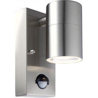 Globo Außenwandleuchte LED Klar, 1-flammig, Bewegungsmelder