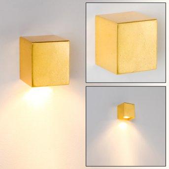 Matera Wandleuchte Gold, 1-flammig