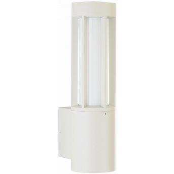 Albert Leuchten 223 Außenwandleuchte Weiß, 2-flammig