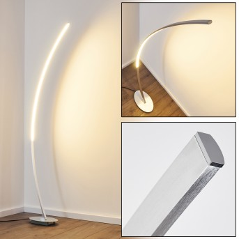 Antares Bogenleuchte LED Chrom, 1-flammig
