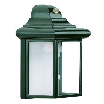 KS Verlichting Bornand Außenwandleuchte Grün, 1-flammig, Bewegungsmelder