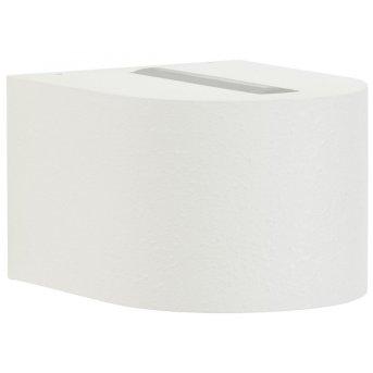 Albert Leuchten 2339 Außenwandleuchte LED Weiß, 2-flammig