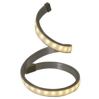 Näve LoopLine Tischleuchte LED Edelstahl, 1-flammig