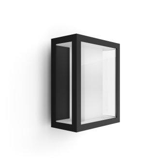Philips Hue Ambiance White & Color Impress Wandleuchte LED Schwarz, 1-flammig, Farbwechsler