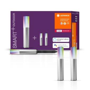 LEDVANCE SMART+ Wegeleuchte Erweiterungs-Set Grau, 3-flammig