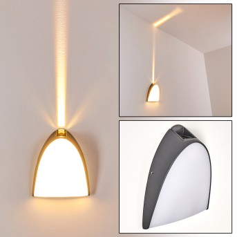 Hoist Außenwandleuchte LED Anthrazit, 1-flammig