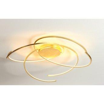 Escale SPACE Deckenleuchte LED Gold, 1-flammig