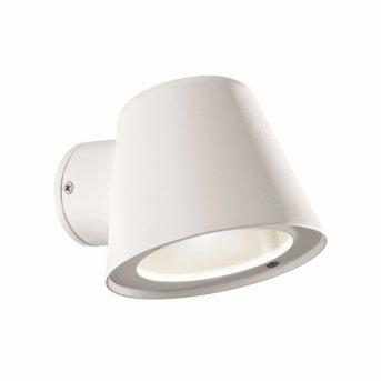 Ideal Lux GAS Aussenwandleuchte Weiß, 1-flammig