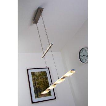 Wofi VERSO Pendelleuchte LED Nickel-Matt, 4-flammig