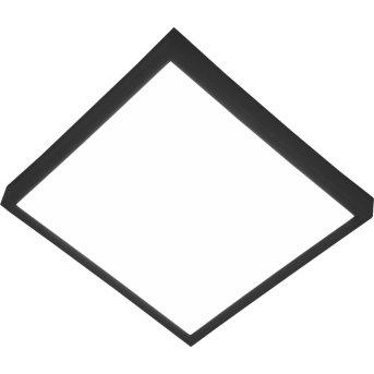 Nino Leuchten PUCCY Deckenleuchte LED Schwarz, 1-flammig