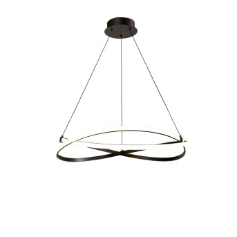 Mantra INFINITY Pendelleuchte LED Silber, 1-flammig