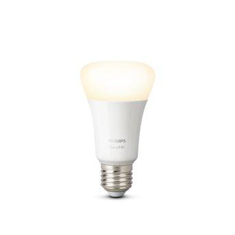 Philips Hue LED White E27 9,5 Watt 2700 Kelvin 806 Lumen