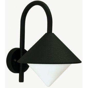 Albert Leuchten 645 Außenwandleuchte Schwarz, 1-flammig