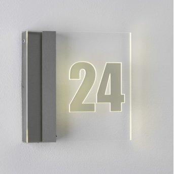 Albert 6006 Hausnummernleuchte LED Edelstahl, 1-flammig