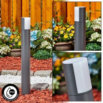 Baulund Wegeleuchte LED Anthrazit, 1-flammig