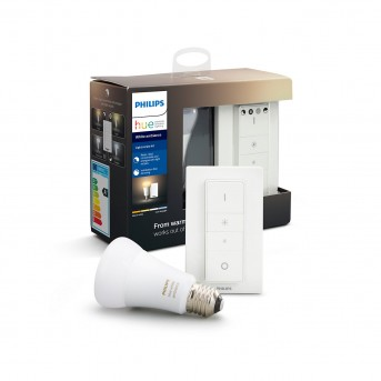 Philips Hue LED Ambiance White E27 9,5 Watt 6500 Kelvin 806 Lumen