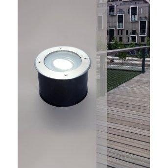 Lutec CYDOPS Bodeneinbauleuchte LED Anthrazit, 1-flammig