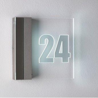 Albert 6007 Hausnummernleuchte LED Edelstahl, 1-flammig
