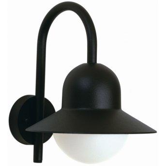 Albert Leuchten 662 Außenwandleuchte Schwarz, 1-flammig