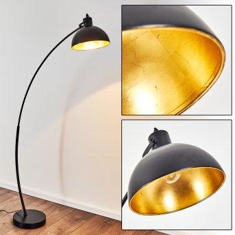 Parola Stehlampe Schwarz, 1-flammig