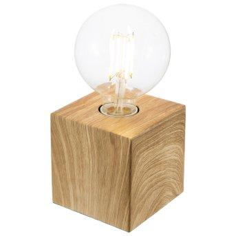 Nino Leuchten LEONIE Tischleuchte Holz hell, 1-flammig