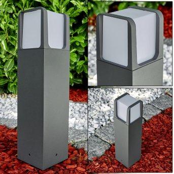 Lysabbel Sockelleuchte LED Anthrazit, 1-flammig