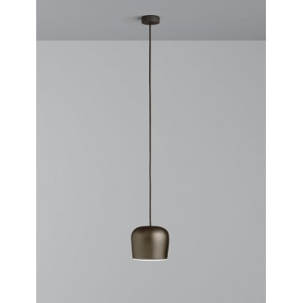FLOS AIM SMALL Pendelleuchte LED Braun, 1-flammig
