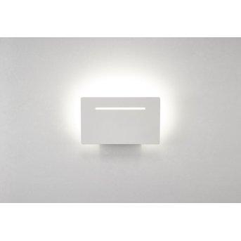 Mantra TOJA Wandleuchte LED Weiß, 1-flammig
