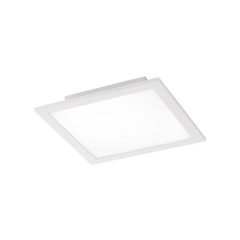 Leuchten Direkt Ls-FLAT Deckenpanel LED Weiß, 1-flammig, Fernbedienung, Farbwechsler
