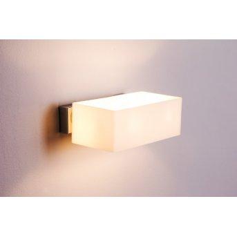 Ideal Lux BOX Wandleuchte Chrom, 2-flammig