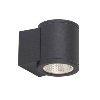 AEG Argo Außenwandstrahler LED Anthrazit, 1-flammig