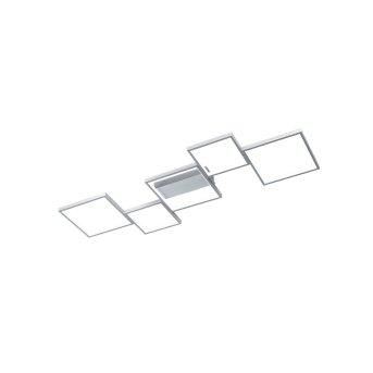 Trio Leuchten Sorrento Deckenleuchte LED Aluminium, 1-flammig